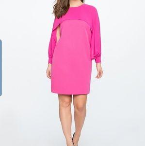 Eloquii open sleeve dress; size 28